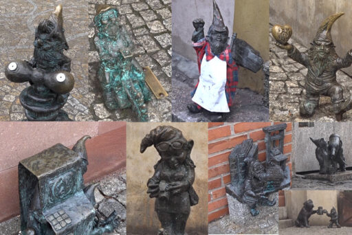 Follets al centre de Breslau